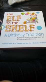 Elf on the Shelf a birthday tradition - £2.99 @ Home Bargains