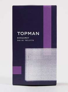 Bergamot Eau De Toilette 100ml only £5.00 at topman. Free click and collect and 10% off for students