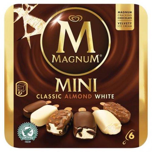 Magnum Mini 6 x 60ml Ice Cream Rollback £2 @ Asda