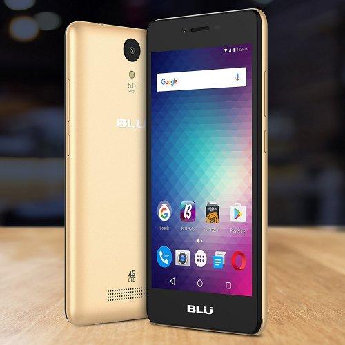 BLU Studio G HD LTE -4G LTE SIM-Free Smartphone -8 GB + 1 GB RAM- Gold £59.99 @ Amazon Delivered