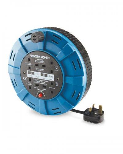 Workzone 10M 4 Socket Cassette Reel £8.99 Del @ Aldi (pre-order for 20th April)