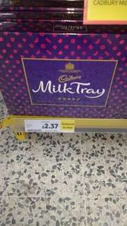 Milk tray chocolates £2.37 instore @ Tesco