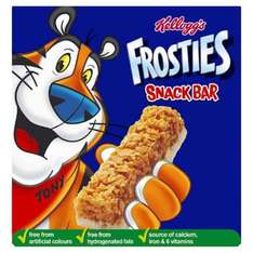 Kelloggs Frosties Cereal Bars 6 x 25g was £1.00 2 for £2.00 (Mix and Match available with other Kellogg products) @ Tesco