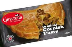 Ginsters Original Cornish Pasty (227g) Half Price was £1.50 now 75p @ Tesco