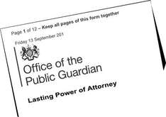 Create a Lasting Power of Attorney online was £110 now £82. Free for some! @ GOV.UK