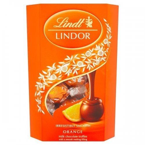 Lindt milk chocolate orange truffles 200g box just 99p rrp £4.99 instore @ Superdrug