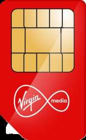 Virgin SIMO Deal - 20GB data, 5000 mins, Unltd Texts - 30 day rolling + Data rollover - £15 p/m @ Mobiles.co.uk