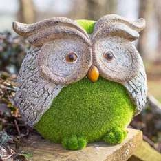Hacienda flocked owl ornament was £32.00 now just £4.97 (plus £3.95 P&P, or £2 collected) @ House of fraser