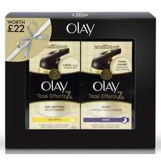 Olay Total Effects Day SPF15 & Night Twin Pack For £9.99 @ Savers In Store