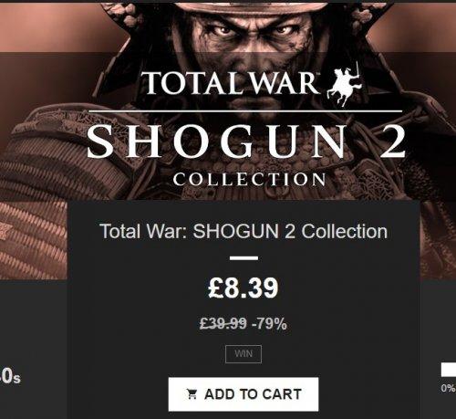 Total War Shogun 2 Collection on STEAM
