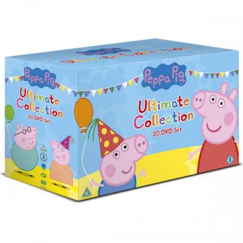 The Peppa Pig Ultimate Boxset DVD £21.99  **Update now £20.99 with code PEPPA** @ Zavvi (Run time 1088 mins!)