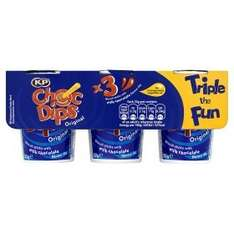 KP Chocolate Dips (3 x 32g) (RollbackDeal) was £1.75 now £1.00 @ Asda