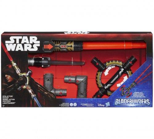 Star Wars BladeBuilders Spin-Action Lightsaber @ Argos now £12.99 (was £49.99)