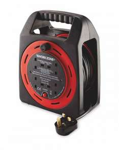 Workzone 15m Cable Reel £12.99 @ Aldi pre order for 27th delivery.
