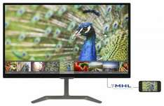 """Phillips 23.6"""" LED IPS monitor for £94.98 at Ebuyer"""