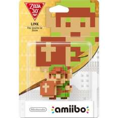Link 8bit & Wolf Link (The Legend of Zelda) Amiibo back in stock £10.99 / £12.98 delivered Nintendo Store