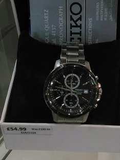 New SEIKO sks539p1 £44 @ Argos / Clearance bargains - Corby