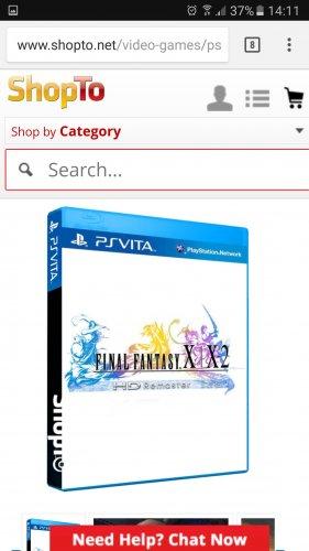 Final fantasy X/ X-2 remaster (Vita) - £9.85 @ Shopto