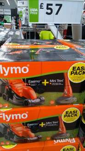 Flymo Easimo 900W & Mini Trimmer Twin Set - £57.00 instore @ Asda -  Queslett (Birmingham)