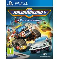 10% off Pre-Orders Using Code - e.g Micro Machines: World Tour - £17.95 (PS4/Xbox One) - TheGameCollection