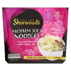 Sharwood's Ready to Wok Medium Soft Noodles 300g: One pack for 29p or Five for £1 @ B&M Aberdeen