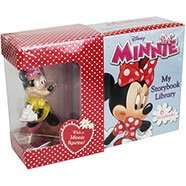 Disney Minnie My Little Storybook Library With Figurine (6 Books) now 80p C+C with code @ The Works (Cinderella version oos online)