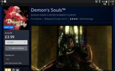 Demon's Souls PS3 @ PS STORE £3.99 Easter sale, ends tonight.