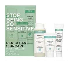 Free delivery on everything using code plus 2 free samples eg Evercalm kit and Clarimatte kits £15 each delivered @ REN Skincare