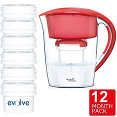 Aqua Optima Minerva Compact Water Filter Jug 2.5L + 12 Month Filter Pack (Like Brita) £18.78 delivered @ Ozaroo Store / Ebay (£16.28 after TCB boost)
