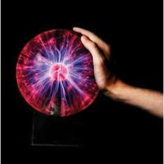 "8"" Plasma Ball £12.99 - Maplin"