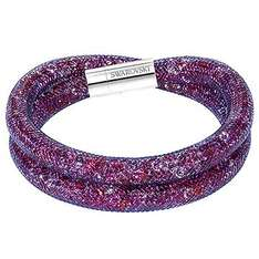 Beautiful Swarovski Stardust double bracelets reduced to £34.50 (shipping £4.45 if under £60) plus receive a thank gift and free gift card and gift bag @ Swarovski Outlet