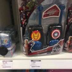 lexibook avengers walkie talkies reduced to £7.50 from £29.99 boots instore only