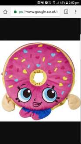 shopkins donut pj case 2.99 home bargains - hull