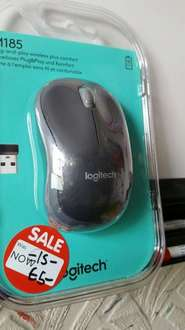 Logitech M185 mouse £5 instore at Asda (Ware)