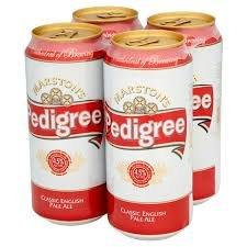 Marston's Pedigree Classic English Pale Ale. 4 x 440ml.