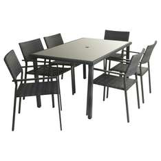 6 piece rattan dining set £250 save £50 @ Wilko