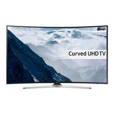 "Samsung UE55KU6100 55"" KU6100 6 Series Curved 4K UHD HDR Ready Smart £579.00 Free delivery  @ PRC Direct"