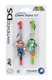 Nintendo Licensed Character Charm Stylus Twin Pack - Mario & Yoshi £1.60 Delivered @ Game