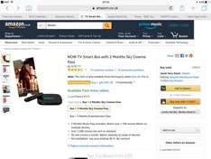 NOWTV smart box with 2 months cinema pass at Amazon for £31.93