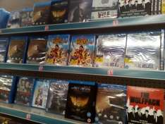 Total Recall, The Pirates, Man on a Ledge Blu-Rays Etc. instore £1 @ Poundland