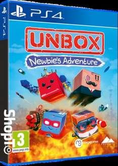 Unbox: Newbie's Adventure (PS4) £15.85 Delivered (Preorder) @ Shopto (£14.85 @ Base)