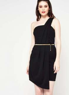 Upto 70% Off Sale - One Shoulder Pleat Dress (was £29) Now £12.00 at Miss Selfridge (more in 1st post)
