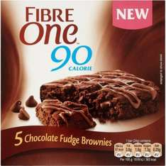 Fibre One Salted Caramel Bars (5 x 24g) Better Than Half Price was £2.89 now £1.39 @ Tesco
