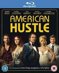 American Hustle Blu Ray £2.90 (delivered for prime members) at Amazon