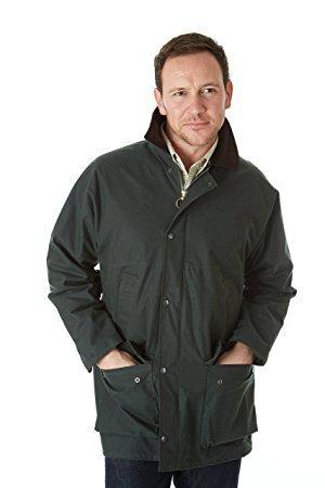 Sherwood Forest Classic Padded Wet Wax Jacket £22 all sizes @ Amazon