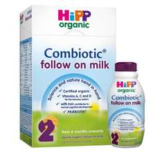 Hipp organic ready made milk - 39p per bottle instore @ B&M