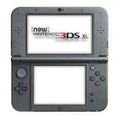 New nintendo 3DS XL console black Unboxed (used) £90 with code @ Grainger games (when buying another item £2+)