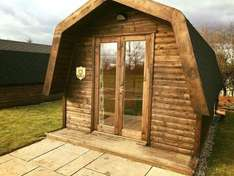 Glamping pod stay for 2 with ensuite bathroom £24.50 per person at booking.com