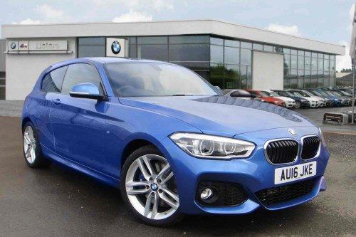 BMW 1 Series Diesel Hatchback 116d Sport 5dr - Lease Total Price £7011 @BMW Chester