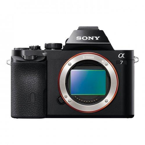Sony ILCE7B Full Frame Compact System Camera Body (24.3 MP, 117 Points Hybrid AutoFocus, 3.0-inch Tiltable LCD, 5 fps, XGA OLED Tru-Finder) - Black  - £799 - Amazon UK